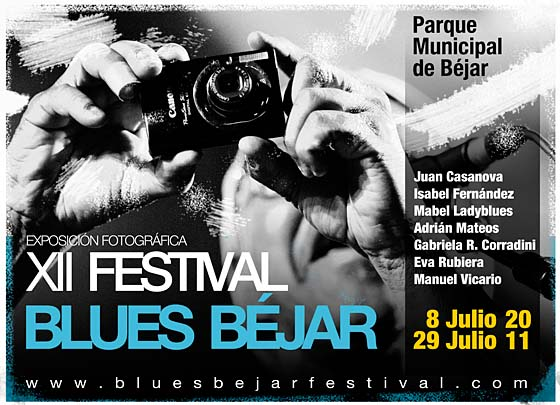 Exposición fotográfica XII Festival Blues Béjar