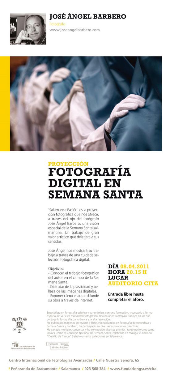 José Ángel Barbero, fotografía digital en Semana Santa