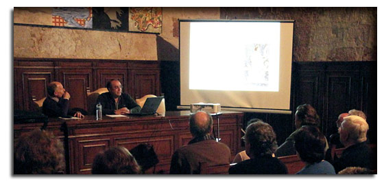 Jesús Ángel Jiménez divulga la repoblación en Salamanca y provincia desde el punto de vista artístico