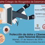 Protección datos y Ciberseguridad para Personas Mayores