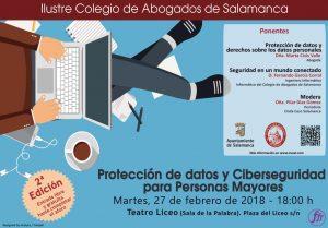 Jornada Protección datos y Ciberseguridad para Personas Mayores