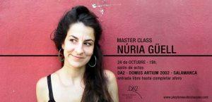masterclass con Núria Güell,