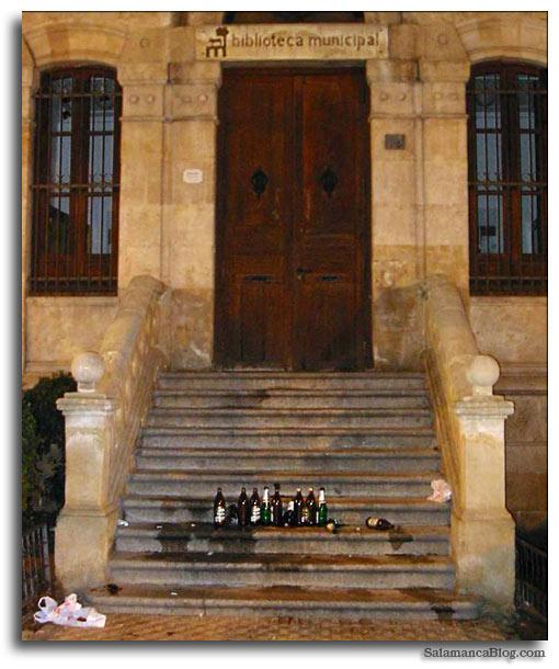 Salamanca, cultura y botellon
