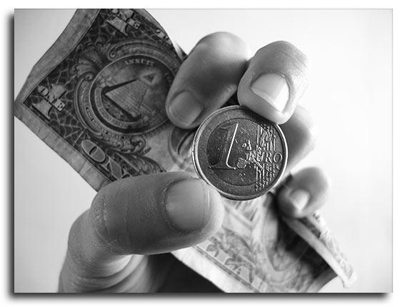 1,39 Euro/dólar