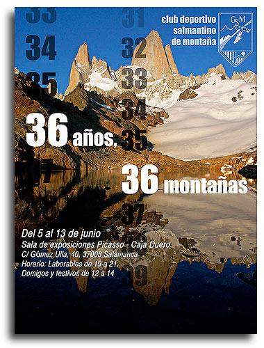 Exposición Club Deportivo Salmantino de Montaña