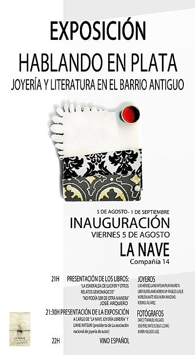 Exposición Hablando en Plata, en La Nave