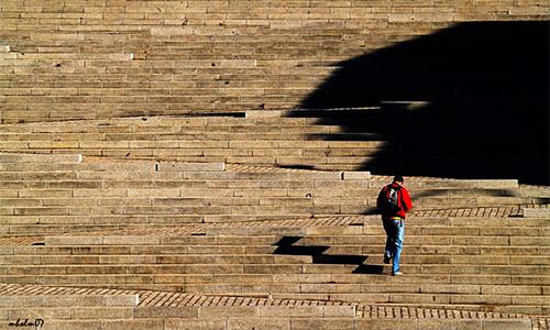 buscando la sombra, foto de Manuel Holgado