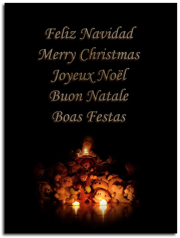 A todos… ¡Feliz Navidad!
