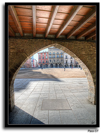 Plaça Major de Vic, foto de Paco CT