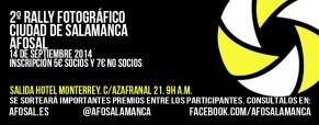 II Rally Fotográfico Ciudad de Salamanca AFOSAL