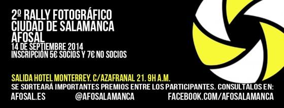 Rally Ciudad de Salamanca AFOSAL