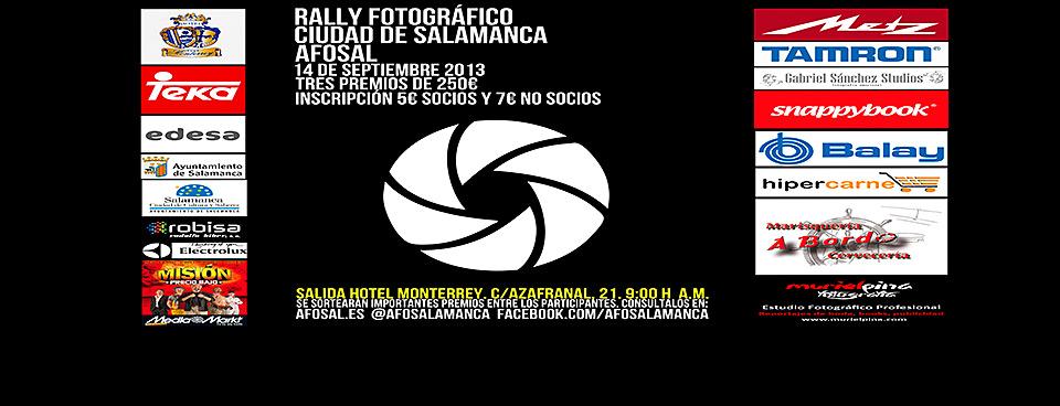 Rally Fotográfico Ciudad de Salamanca AFOSAL