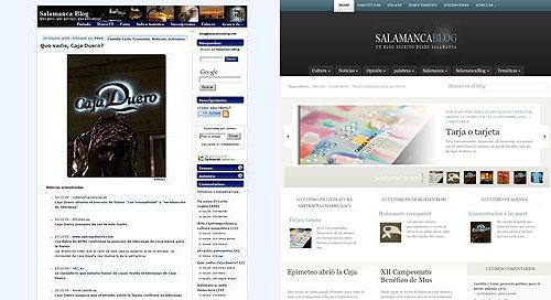 Cambio de look de SalamancaBlog