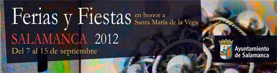 Ferias y Fiestas de Salamanca 2012