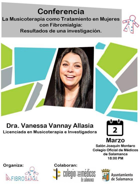 Conferencia de Vanessa Vannay