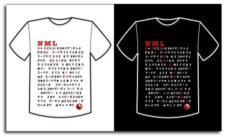Camiseta N M L