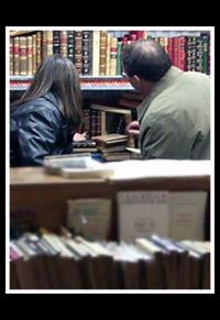 Feria Libro Antiguo, noviembre 2005 en Salamanca