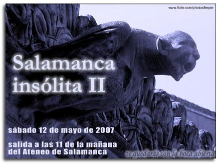 Salamanca insólita II