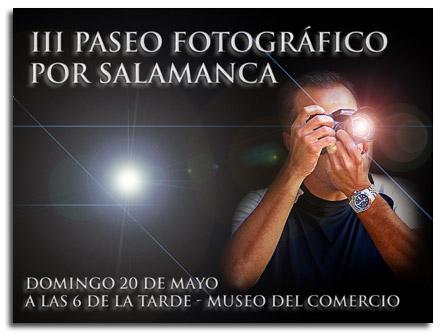 III Paseo Fotográfico por Salamanca