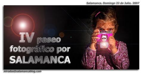 IV paseo fotografico por Salamanca