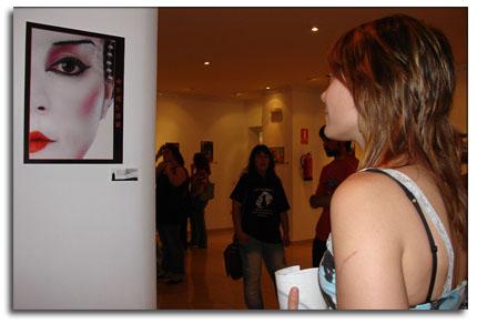 Irene observando la Geisha