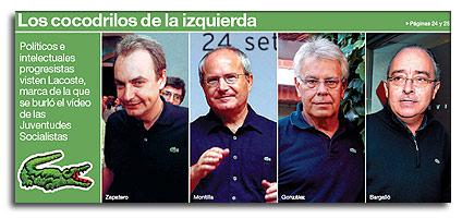 Lacoste PSOE